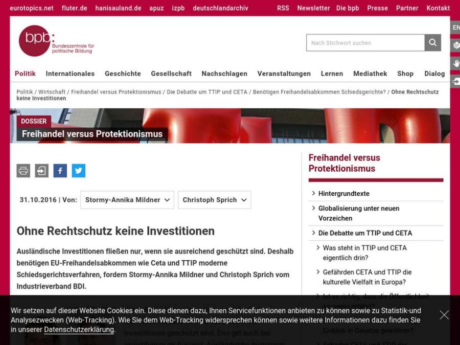 Cover: Debatte - Ohne Rechtschutz keine Investitionen