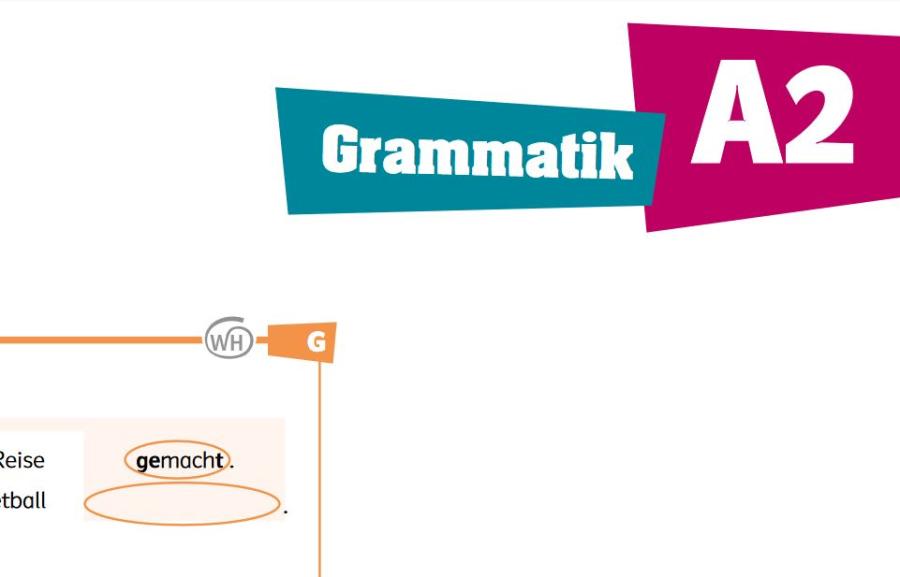 Cover: Grammatikübersicht in Übungen   A2