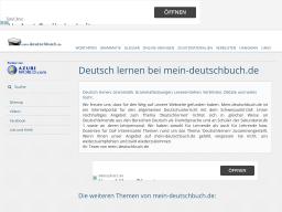 mein-deutschbuch.de | Deutsch lernen