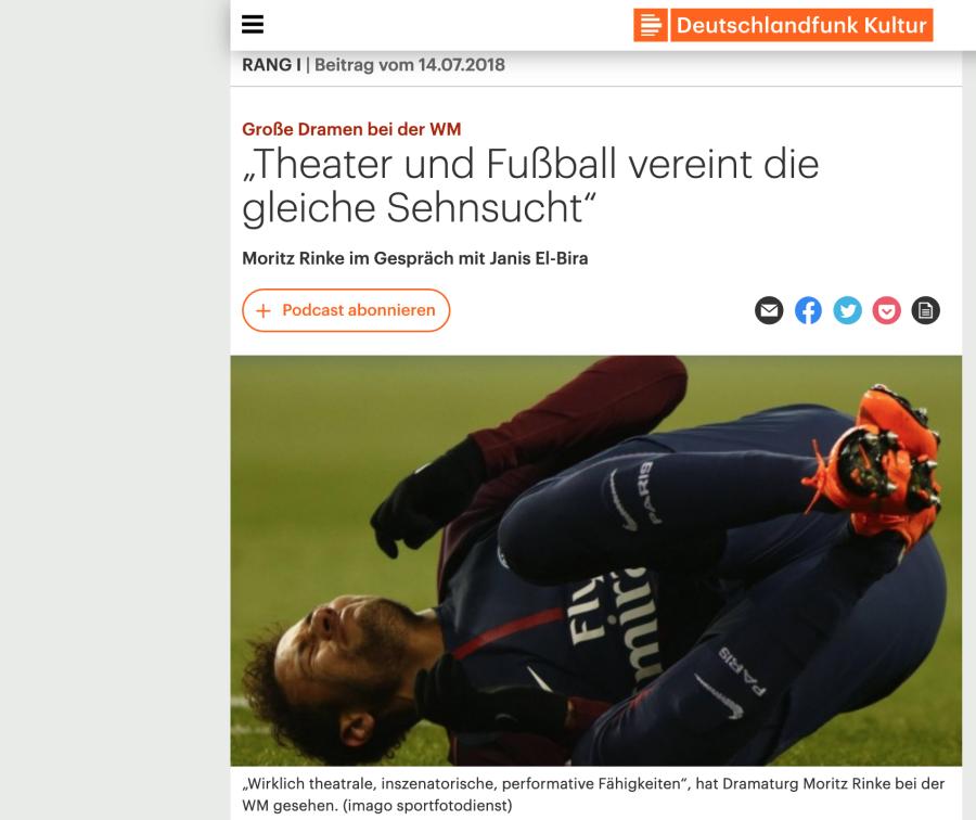 Cover: Große Dramen bei der WM -