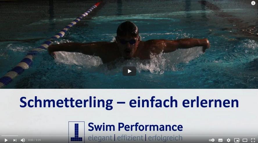 Cover: Schmetterling:  schwimmen lernen in wenigen Schritten: Übungsreihe für den Schwimmkurs-/ unterricht - YouTube
