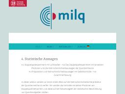 Cover: Statistische Aussagen - milq