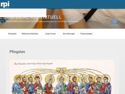 Cover: Pfingsten - Themenseite rpi-virtuell