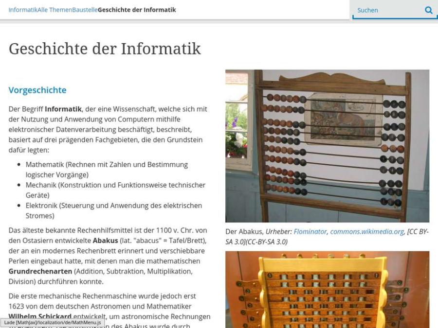 Cover: Geschichte der Informatik