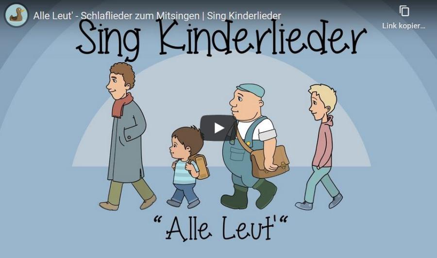 Cover: Alle Leut' |  Verabschiedung | Schlaflieder zum Mitsingen