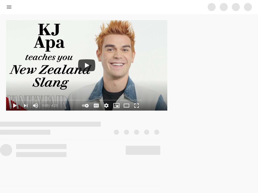 Cover: KJ Apa teaches You New Zealand Slang
