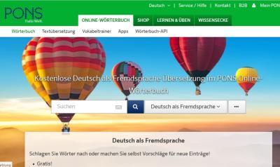 PONS | Online-Wörterbuch Deutsch als Fremdsprache
