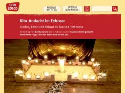 Cover: Kita-Andacht im Februar | Kamishibai