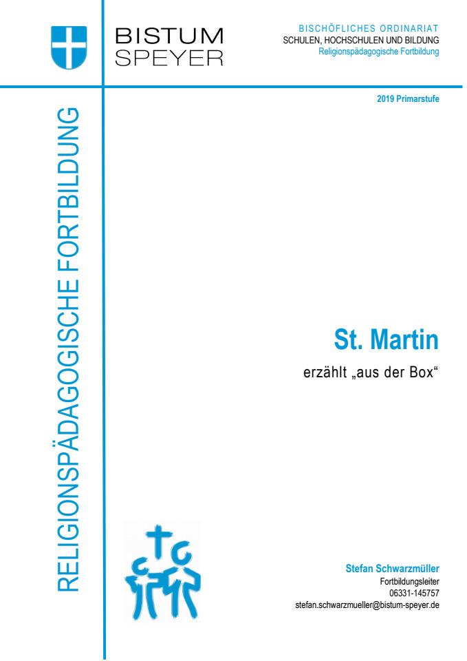 Cover: St. Martin - erzählt