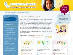 Cover: Kinderfunkkolleg Trialog : Wer war Martin Luther?