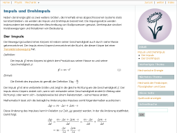 Cover: Impuls und Drehimpuls — Grundwissen Physik