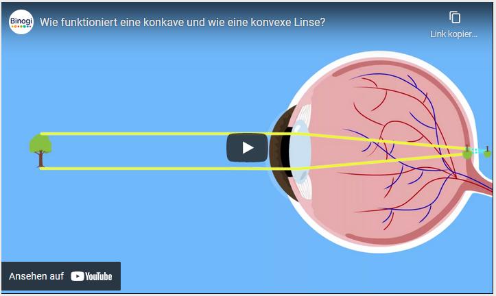 Cover: Wie funktioniert eine konkave und wie eine konvexe Linse? - YouTube