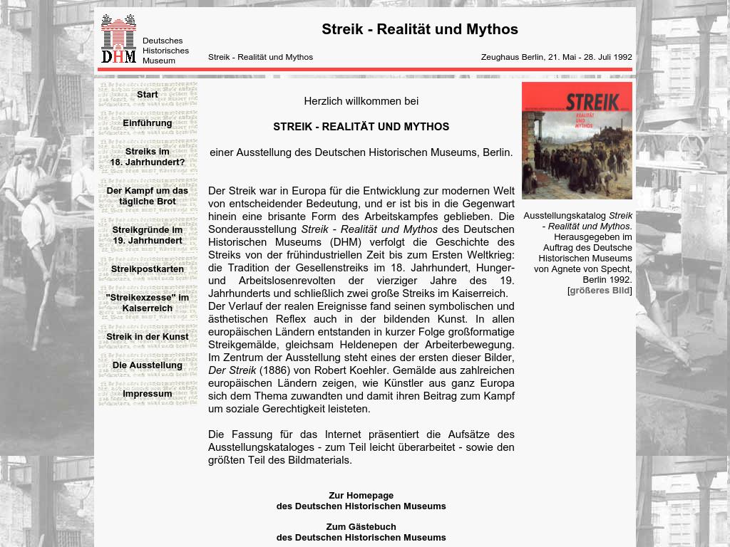 Cover: Streik