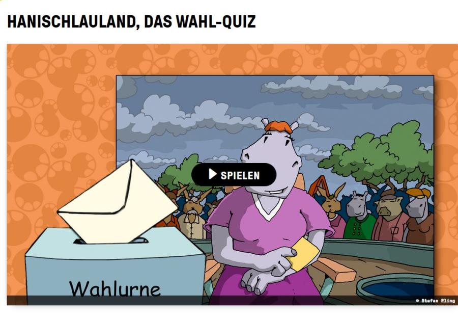 Cover: HanischlauLand | Das Wahl-Quiz