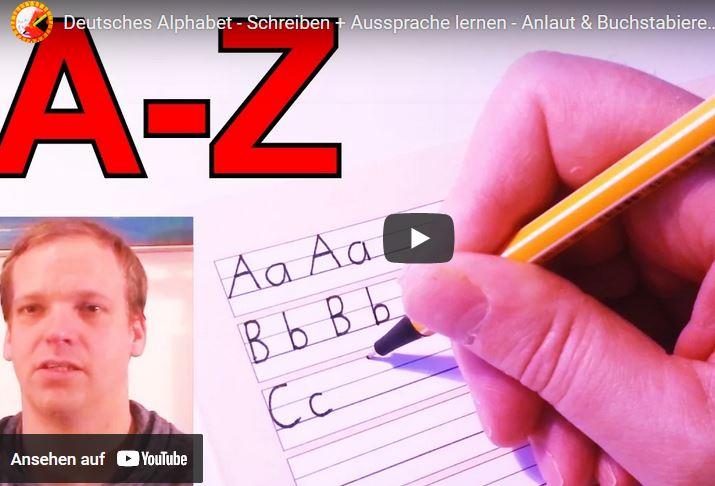 Cover: Das Alphabet  | Schreiben und Aussprache lernen