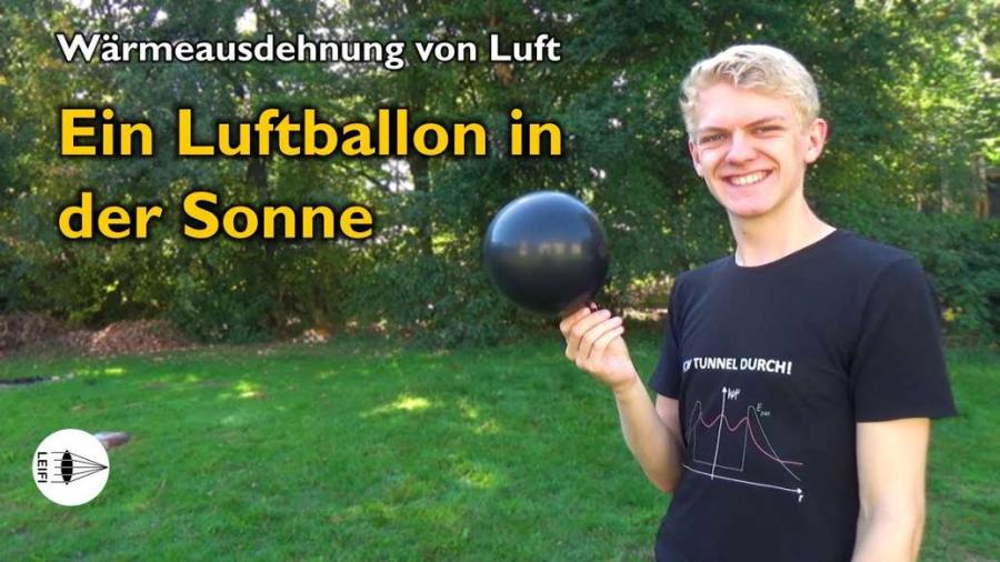 Cover: Luftballon in der Sonne