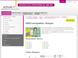 Cover: DAZ-Lernpaket   Körper