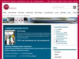 Cover: Zivilcourage - Themenblätter