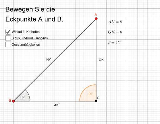 Cover: R9: Planimetrie: rechtw. Dreieck: Sinus, Kosinus, Tangens
