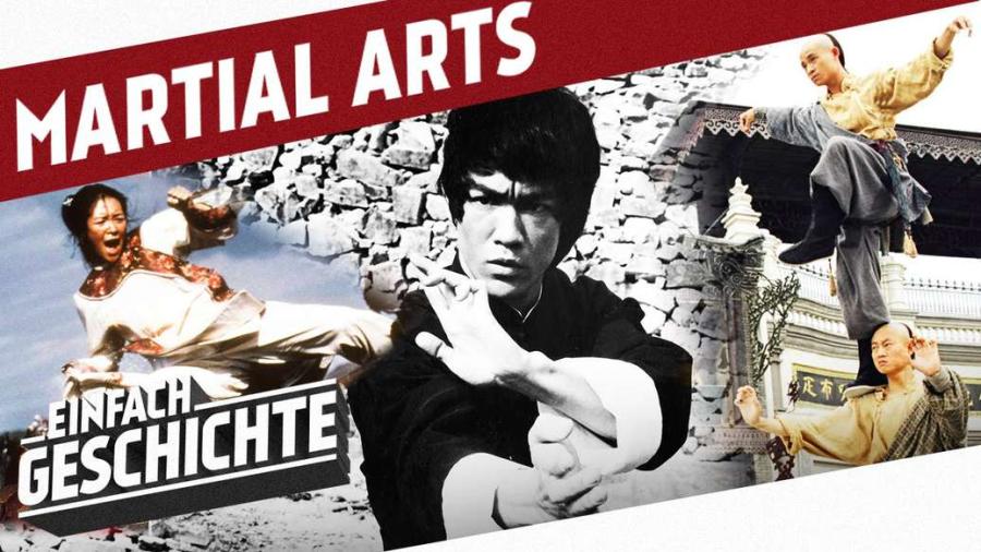 Cover: Kampfkunst: Von den Shaolin zu Martial Arts Filmen l DIE GESCHICHTE CHINAS