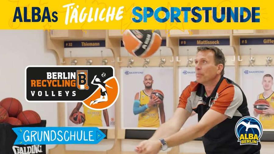 Cover: Grundschule 15 | Volleyball-Sondersendung mit den BR Volleys | ALBAs tägliche Sportstunde
