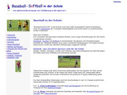 Cover: Softball - Baseball in der Schule
