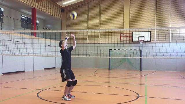 Cover: Volleyball: Pritschen