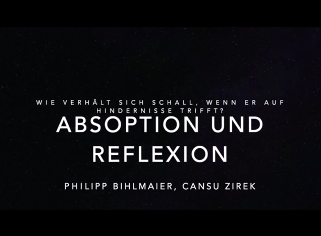 Cover: Erklärvideo: Reflexion und Absorption von Schall