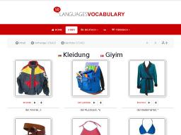 Cover: Türkisch - Kleidung • Lerne KOSTENLOS den Wortschatz mit Hilfe deiner Muttersprache - mit 50LANGUAGES