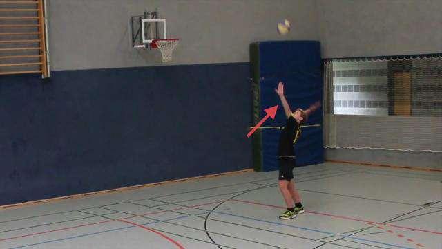 Cover: Volleyball: Tennisaufschlag