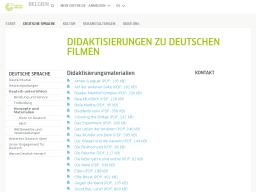 Cover: Didaktisierungen zu deutschen Filmen