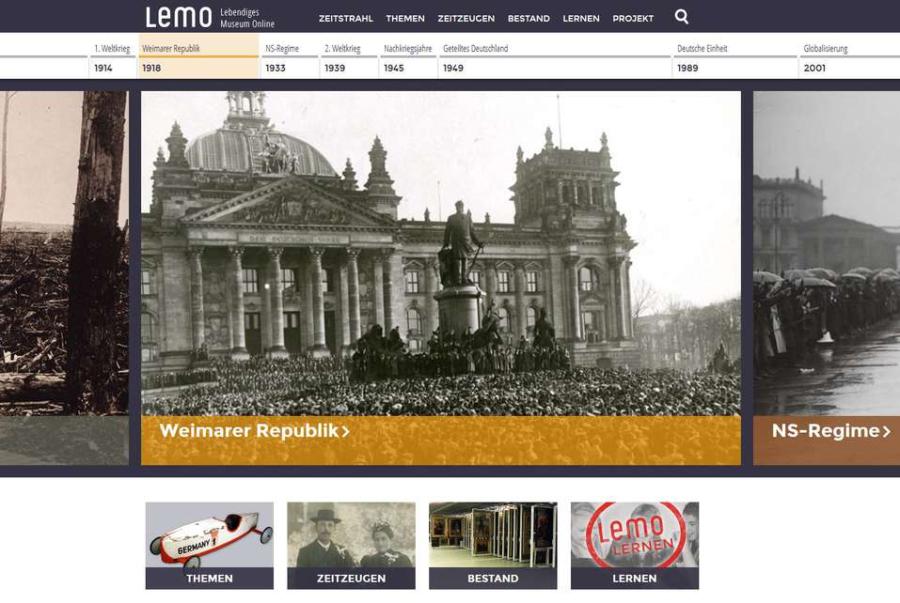 Cover: LeMO – Lebendiges Museum Online