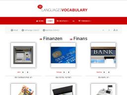 Cover: Türkisch - Finanzen • Lerne KOSTENLOS den Wortschatz mit Hilfe deiner Muttersprache - mit 50LANGUAGES