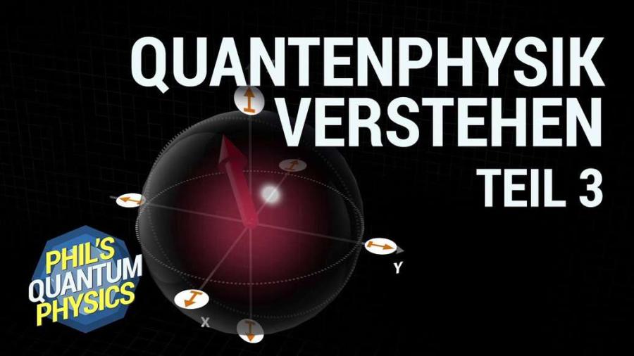 Cover: Quantencomputer + Spin einfach erklärt!    Phil's Physics