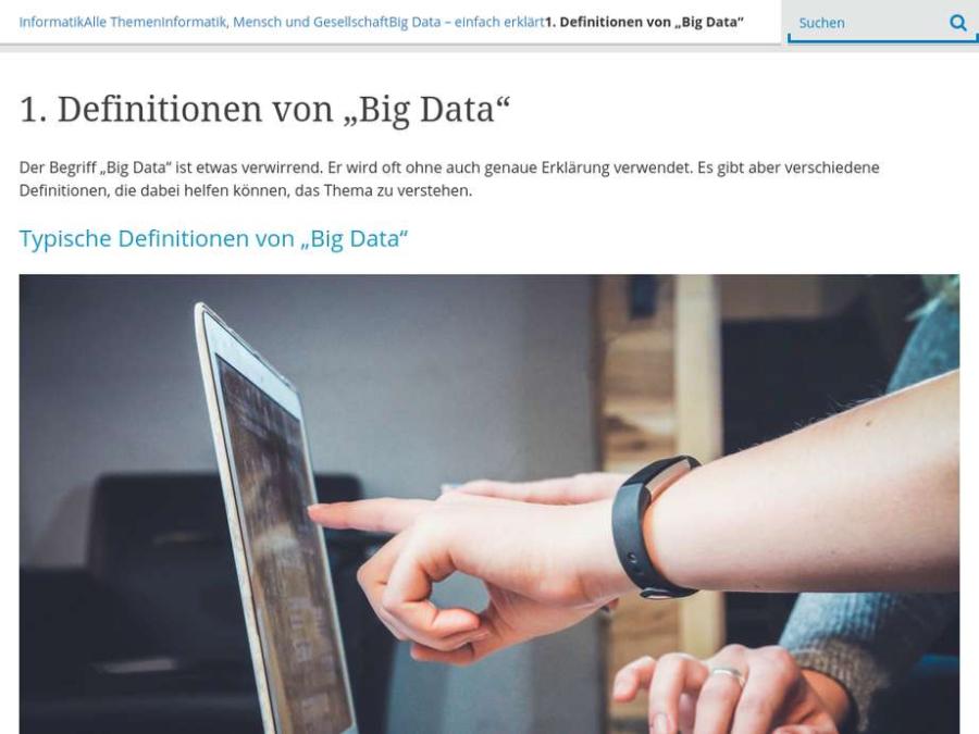 """Cover: Definitionen von """"Big Data"""""""