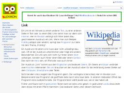 Cover: Klexikon Eintrag Link
