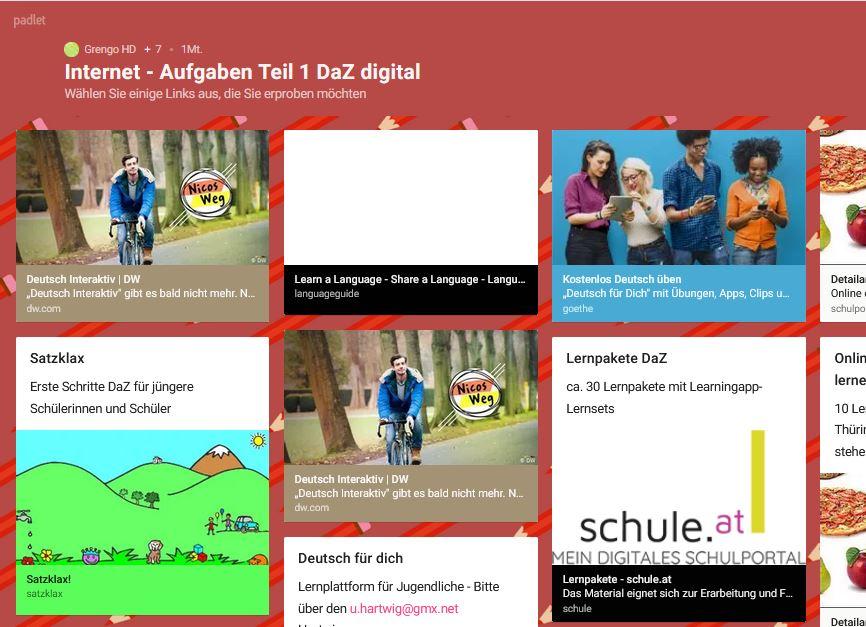 Cover: DaZ digital | Webseiten und Inhalte