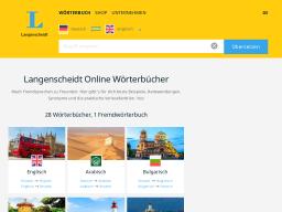 Langenscheidt | Online-Wörterbuch