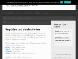 Cover: Begrüßen und Verabschieden | Türkisch lernen online