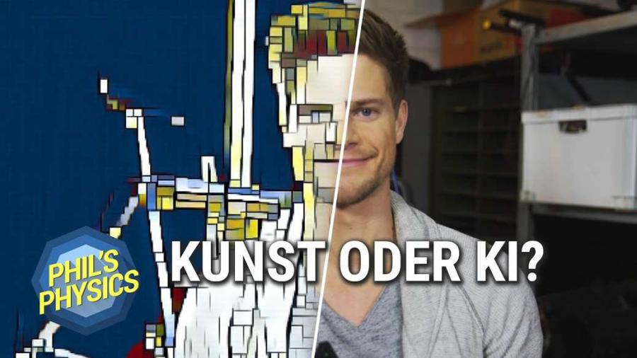 Cover: Kunst oder KI? Künstliche Intelligenz malt Bilder! Neuronale Netze ganz kreativ! Mit Doktor Whatson