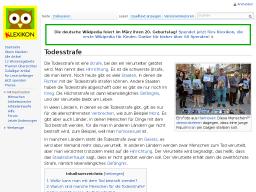 Cover: Todesstrafe – Klexikon