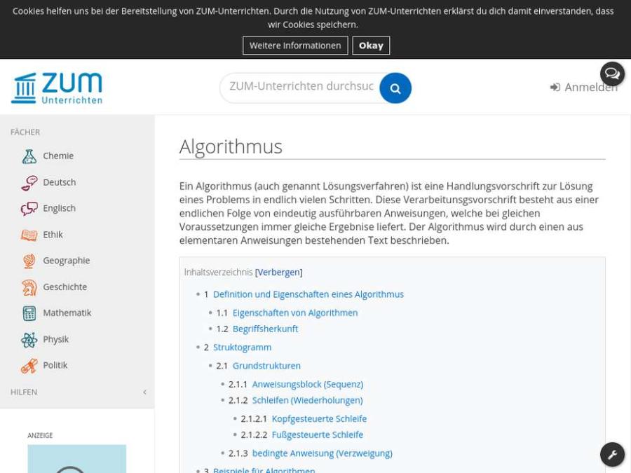 Cover: Algorithmus