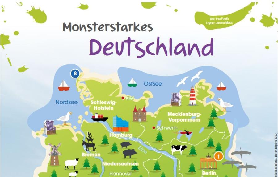 Cover: Monsterstarkes Deutschland