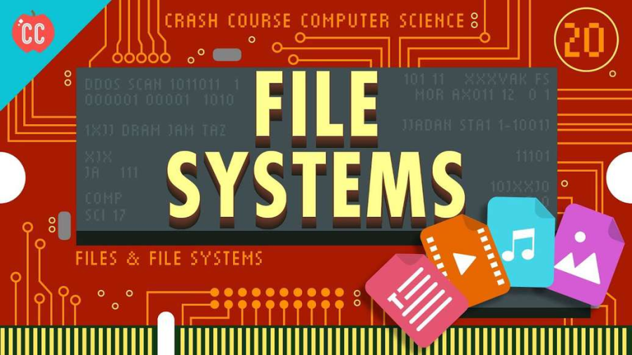 Cover: Files & File Systems: Crash Course Computer Science #20