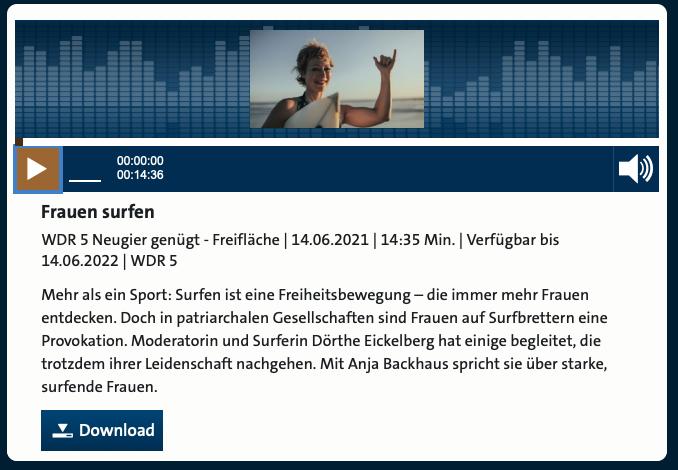 Cover: Frauen surfen
