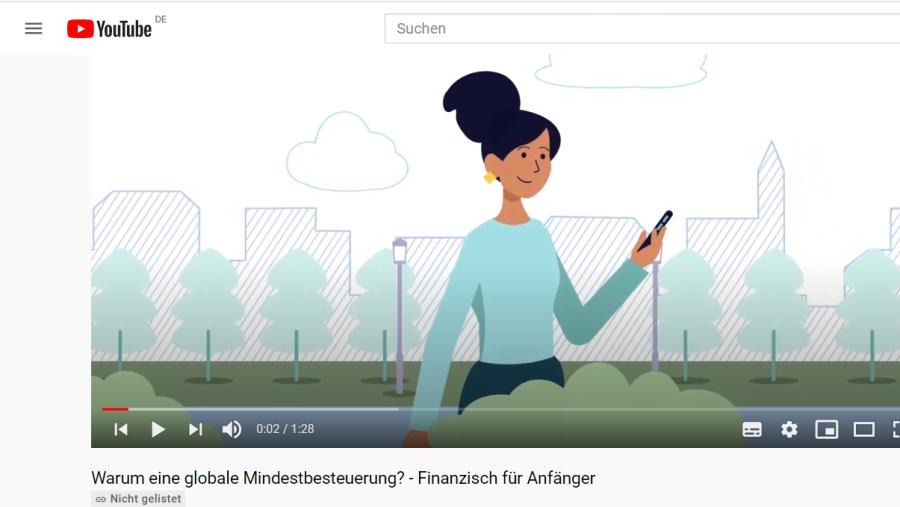 Cover: Warum eine globale Mindestbesteuerung? - Finanzisch für Anfänger - YouTube