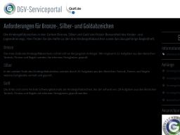 Cover: Anforderungen für Bronze-, Silber- und Goldabzeichen