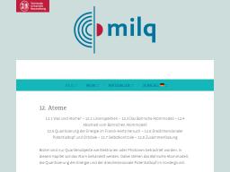 Cover: Atome - milq