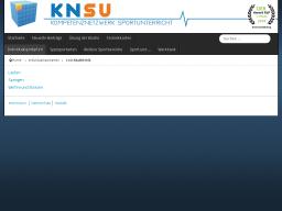 Cover: KNSU - Leichtathletik