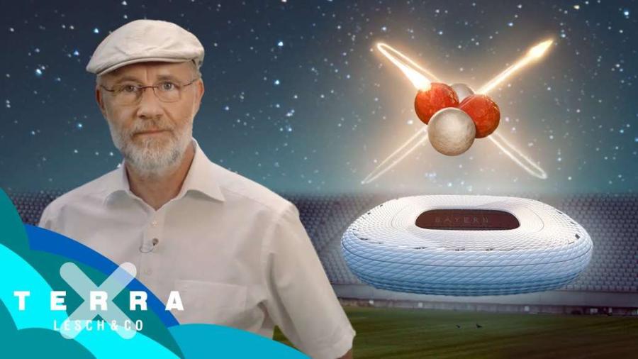 Cover: Wie groß ist ein Atomkern? (Physik im Fußballstadion) | Harald Lesch
